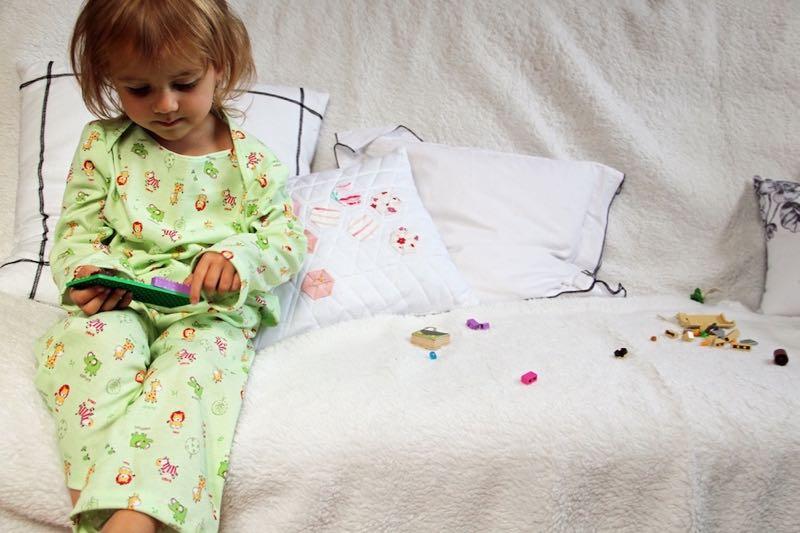 Terulka v pyžamu