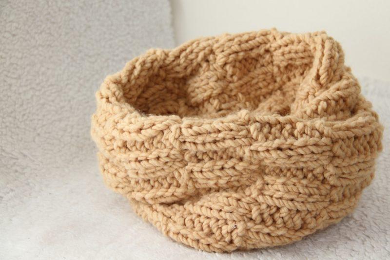 Pletená šála