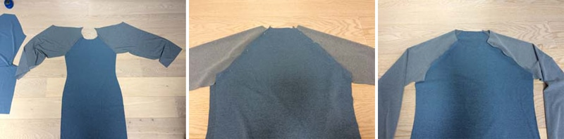 Návod jak ušít raglánové tričko