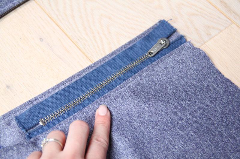 Střih na dámské softshellové kalhoty + návod jak ušít kalhoty krok za krokem