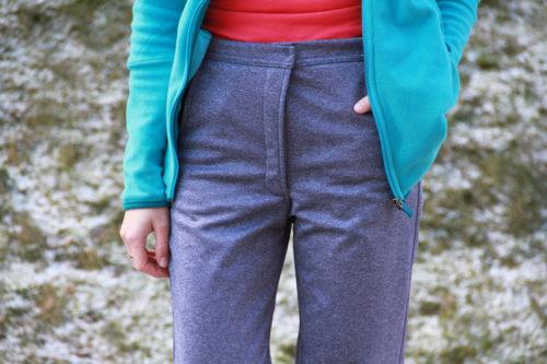 Střih + návod na dámské softshellové kalhoty