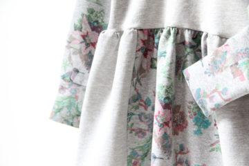 Jak ušít šaty z teplákoviny (podrobný foto návod + střih) 27bab476f3