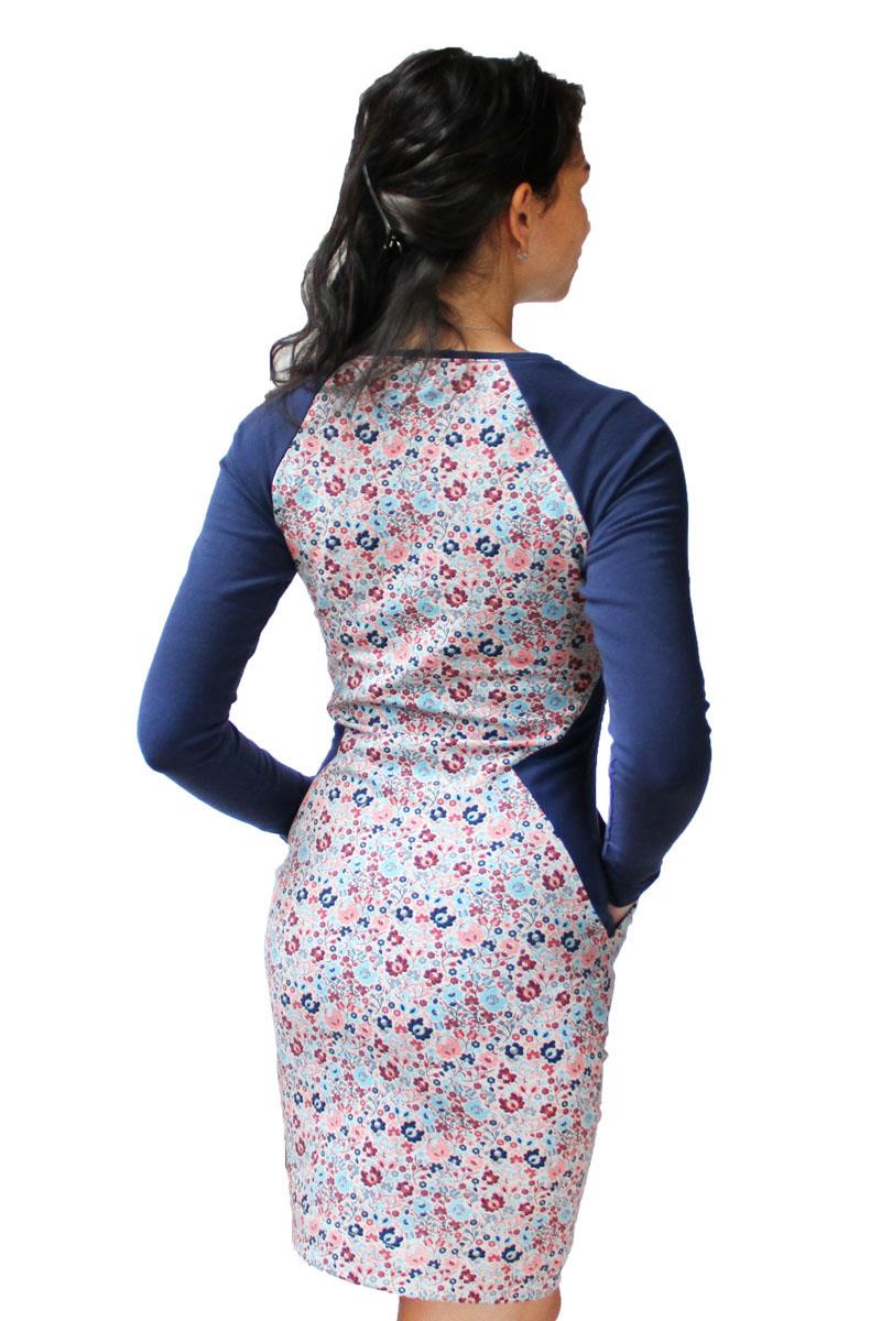 Střih na dámské šaty s opticky zeštíhlujícím efektem (32 - 50 ... 0dd4745345