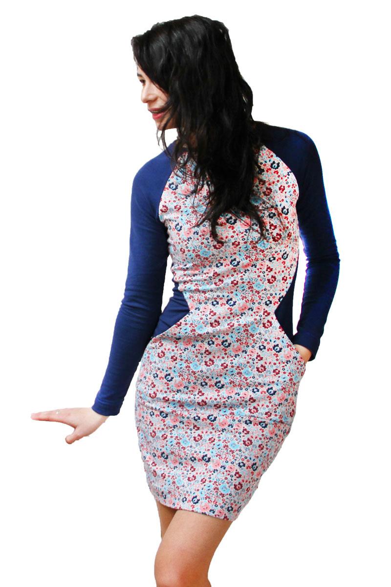 Střih na dámské šaty (opticky zeštíhlující) - velikosti 32 - 50 ... 6ec5333675b