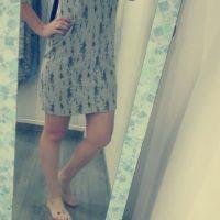 Střih na dámské šaty Jackeline - Gába V.