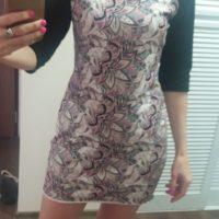 Střih na dámské šaty Jackeline - Hana L.