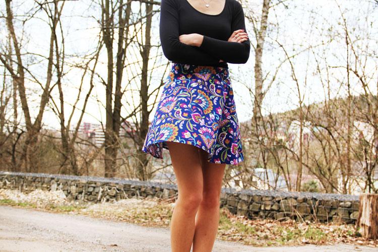 Střih na dámskou sukni + návod jak ušít sukni