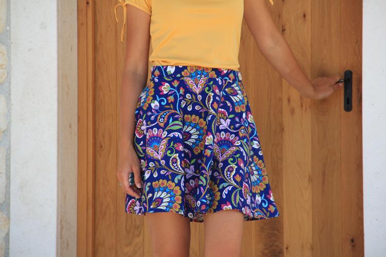 Střih na dámskou sukni RACHEL + návod na šití