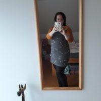 Střih na dámské šaty Jackeline - Lenka S. - šaty ve velikosti 48