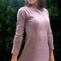 Střih na dámské šaty Jackeline - Markéta R.