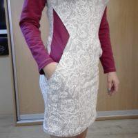Střih na dámské šaty Silueta - Martina M.