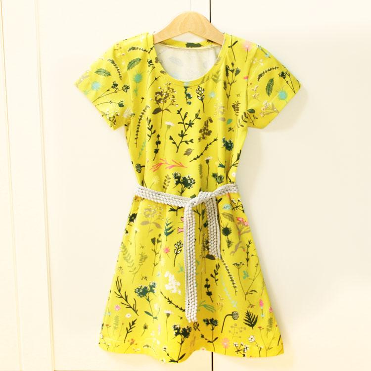 a65fdd8a577 Střih na dětské šaty - jednoduché (vhodné i pro začátečníky)