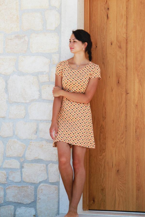 Střih na dámské šaty BASIC