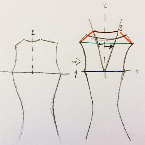 Jak upravit střih - široká ramena nebo záda