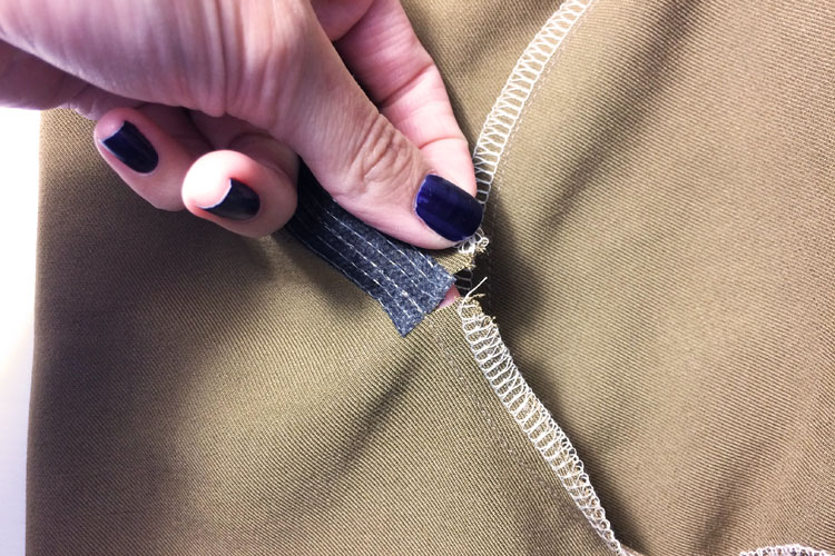 Střih na dámské letní kalhoty - návod jak ušít kalhoty krok za krokem