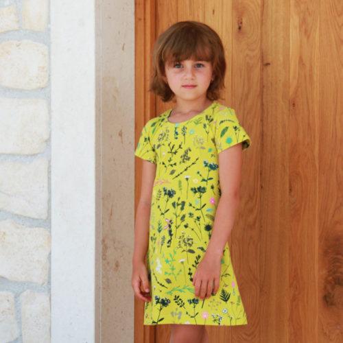 Jednoduchý střih na dětské šaty BASIC
