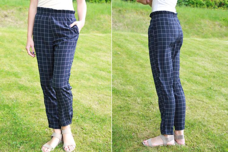 Střih na dámské letní kalhoty