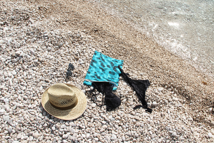Návod jak ušít taštičku na plavky ZDARMA