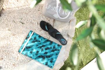 SUMMER DIY   ZDARMA   Návod jak ušít taštičku na plavky 4557f18ee6