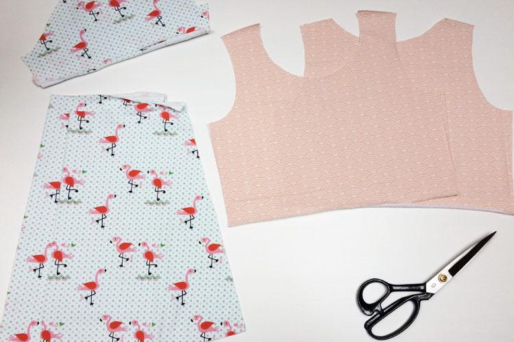 Jednoduchý střih na dětské šaty + návod na šití krok za krokem