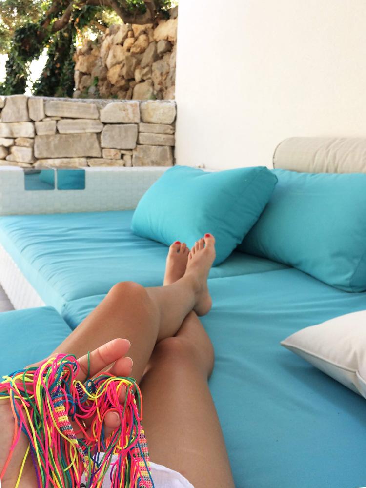 Letní DIY / ZDARMA / Návod na jednoduchý dámský top přes plavky