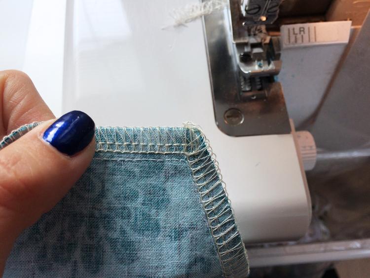 Střih na dětské šortky (z tkaniny - např. plátna)+ návod na šití