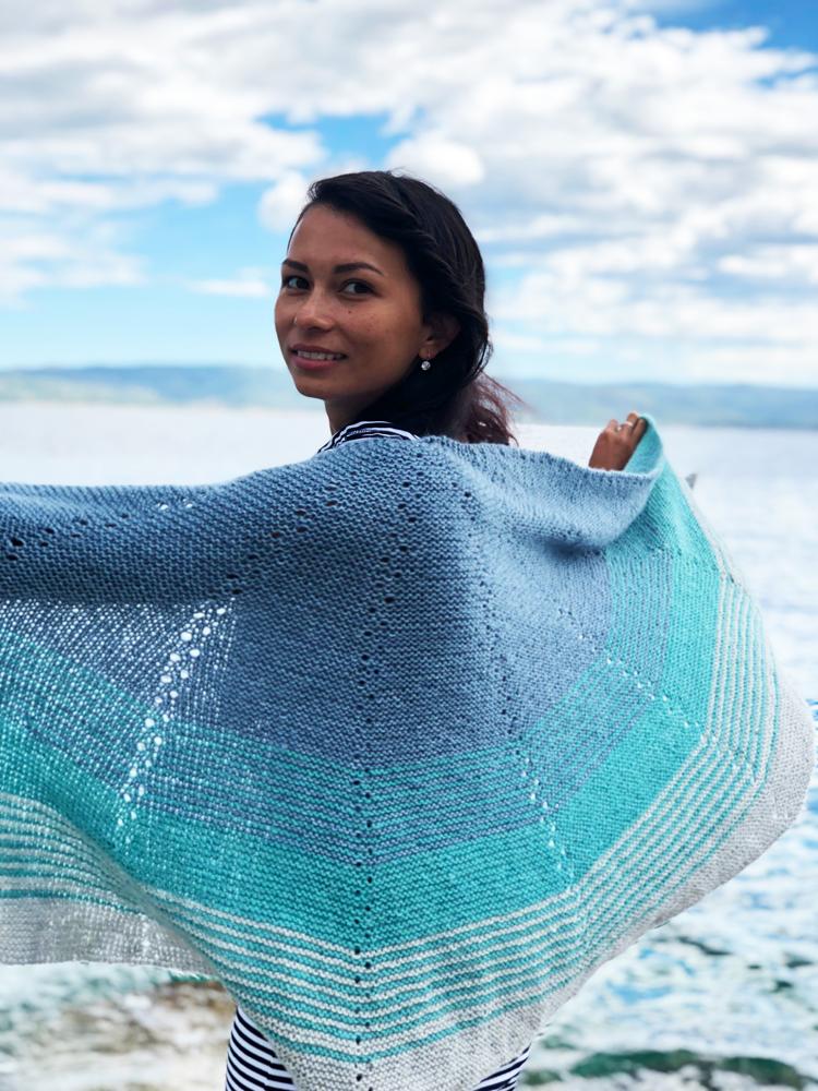 Návod na pletenou šálu zdarma