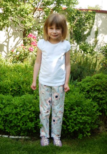 Irena R. - Střih na pyžamové kalhoty