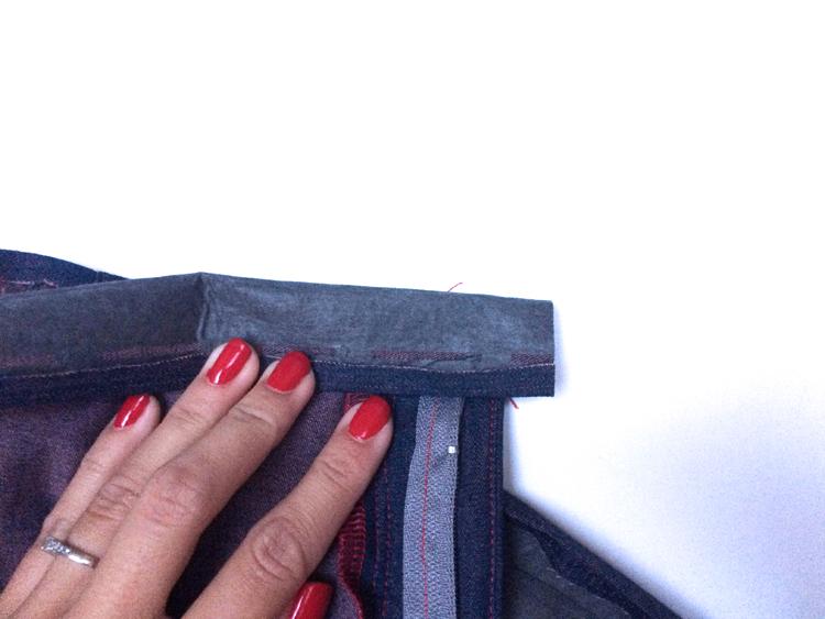 Návod jak ušít rifle (džíny)