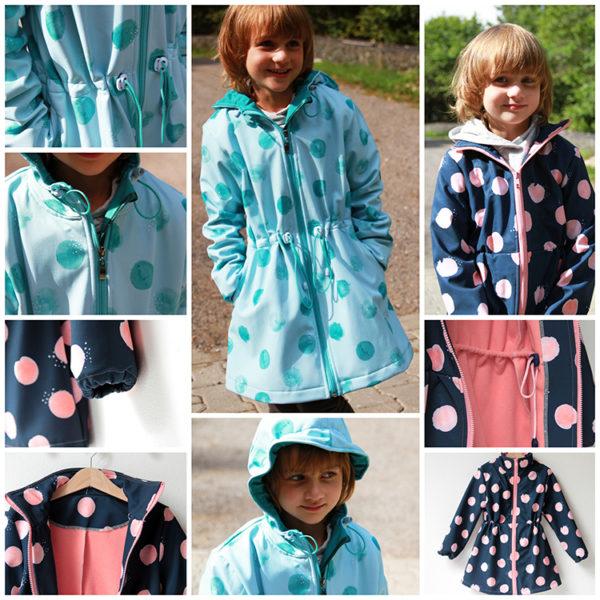 Střih na dětský kabátek
