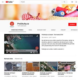 Prošikulky.cz Youtube kanál