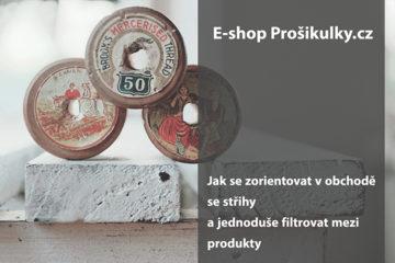 e-shop prosikulky - oděvní střihy