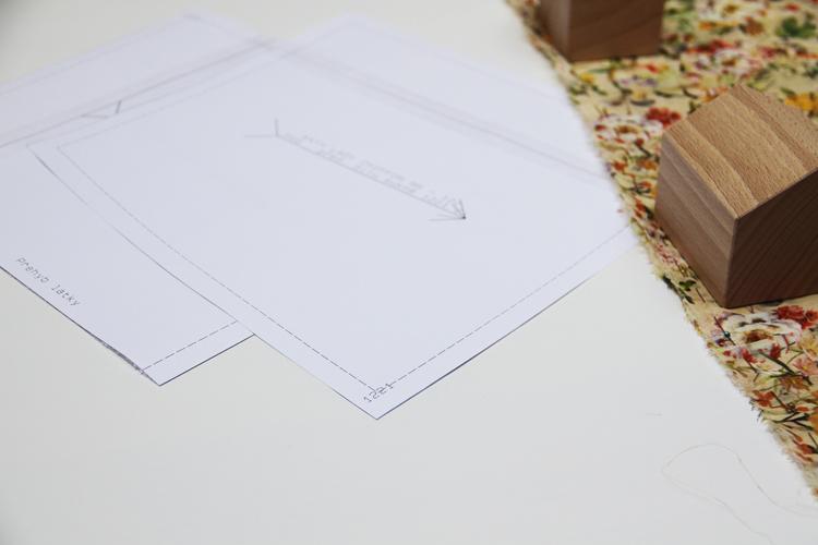 Jak ušít šaty z šifonu - střih na dětské šaty + podrobný foto návod na šití