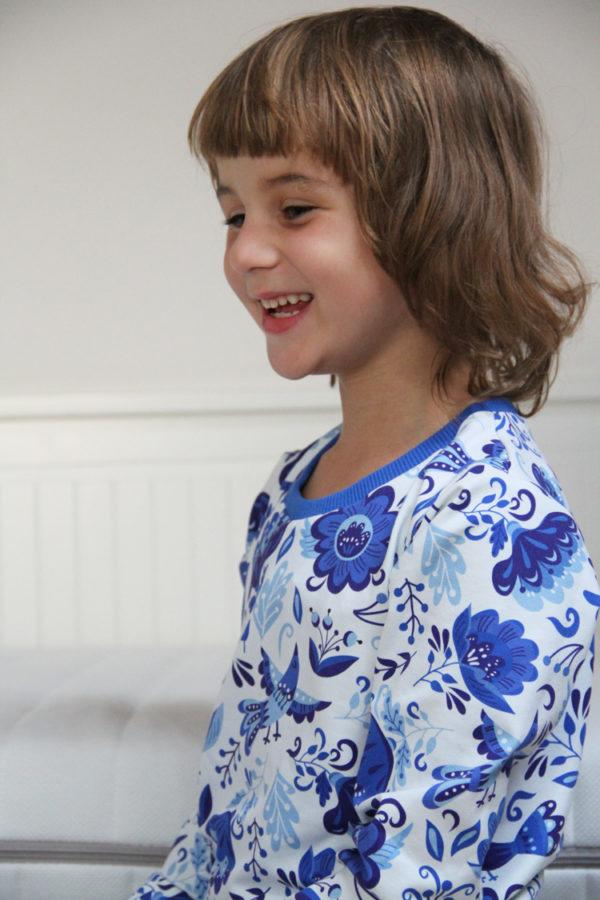 Střih na dětské pyžamo