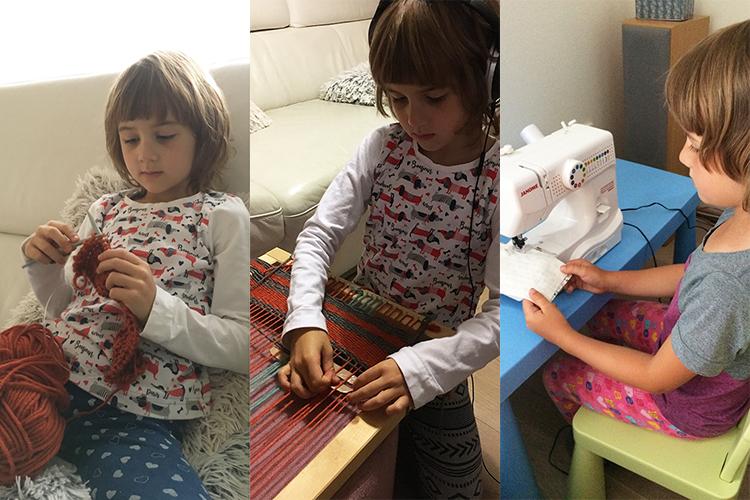 Tvoříme s dětmi - Proč vést děti k ručním pracím