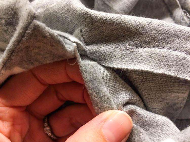 Střih na dámské podzimní šaty - návod jak ušít šaty
