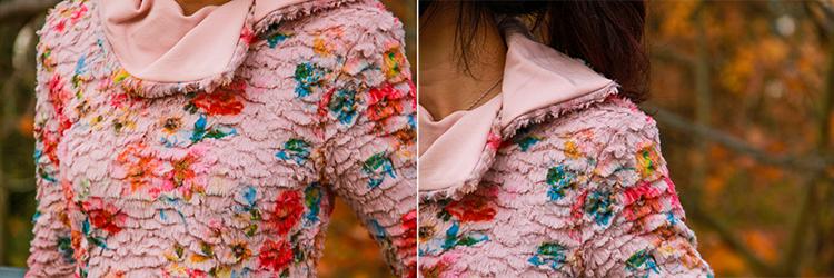 Střih na dámské podzimní šaty krok za krokem