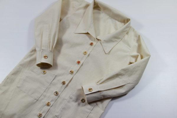 Malířská košile / zástěra - střih a návod