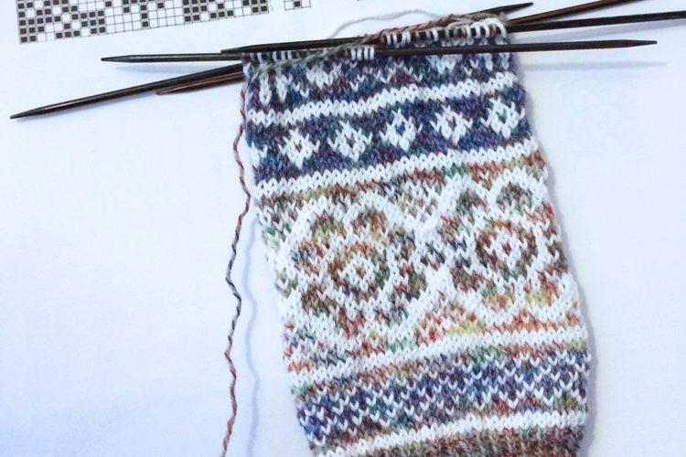b409c5c85b3 Návod na dámské pletené ponožky zdarma Návod na dámské pletené ponožky  zdarma