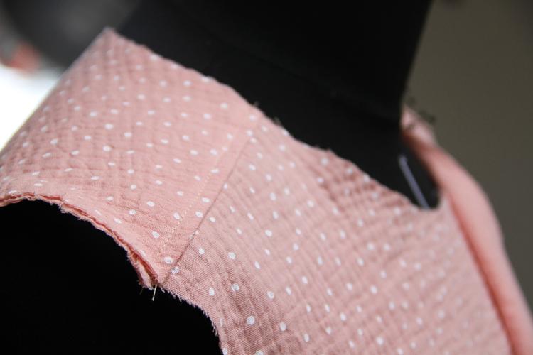 Střih na dámskou košili + video návod jak ušít košili krok za krokem