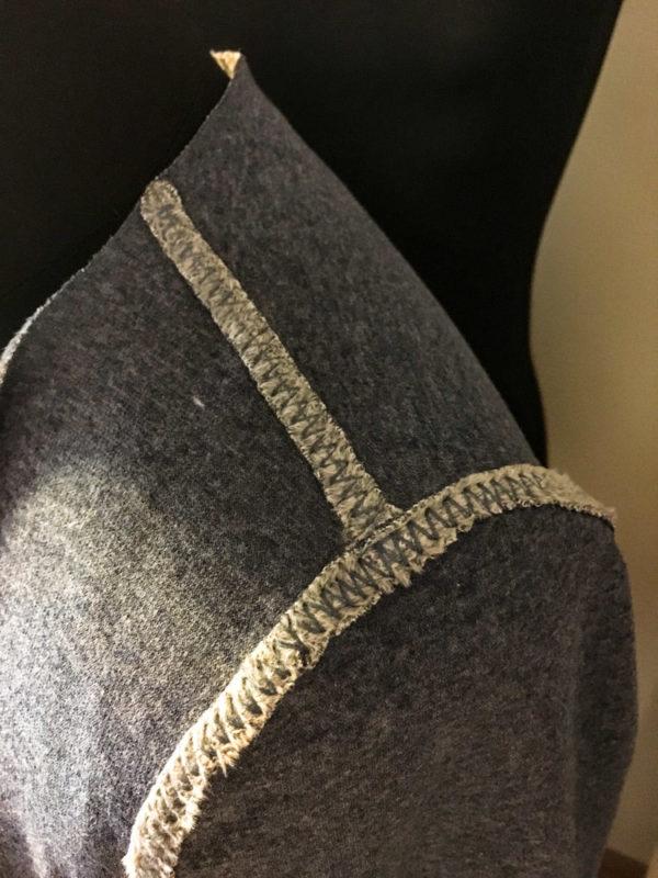 Střih na dámský krátký utíkáček - zkrácený oboustranný cardigan