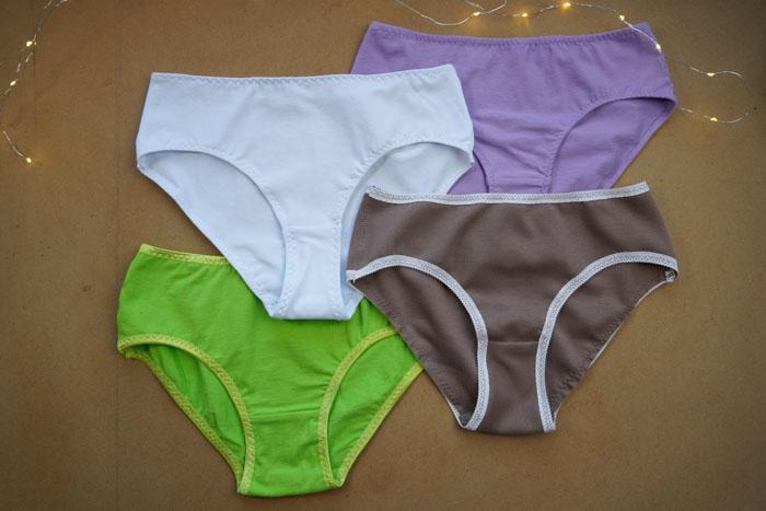 Střihy na dámské kalhotky