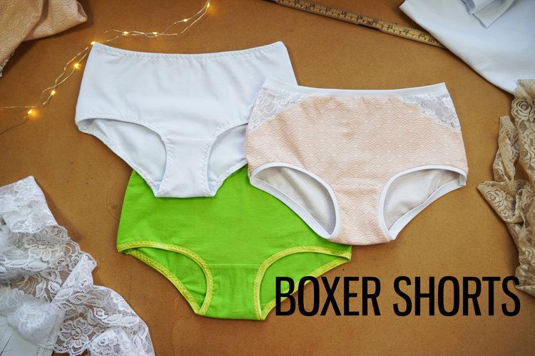 Střih na dámské kalhotky (basic, bikini, hipster, boxerky, brazilky, tanga)
