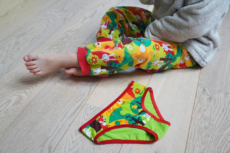 Střih na dětské kalhotky
