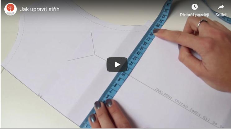 Video návod jak upravit střih