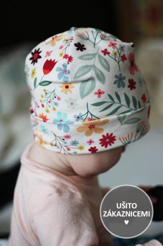 Střih na jednoduchou čepici