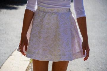 Jednoduchý návod jak ušít sukni + střih