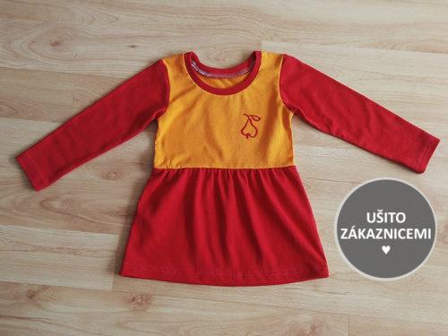 Střih na dětské šaty FLÓRA - fotka od Moniky