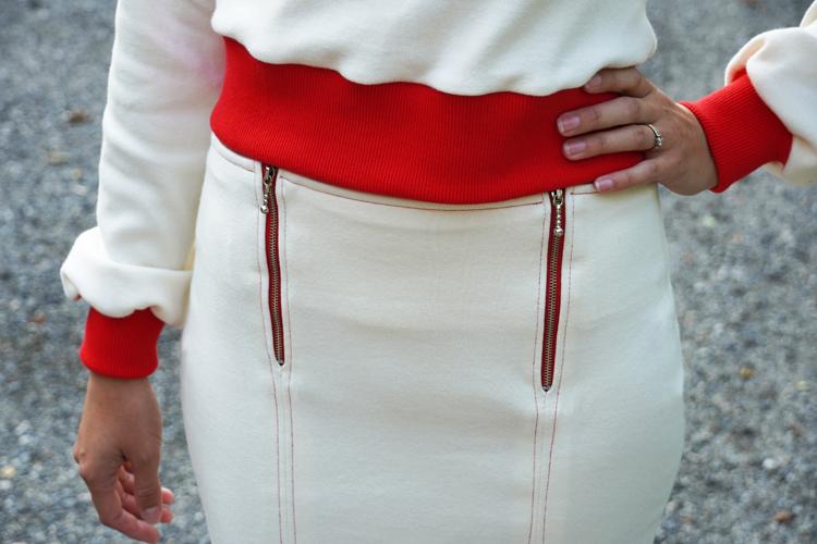 Střih na dámskou sukni TO THE CITY