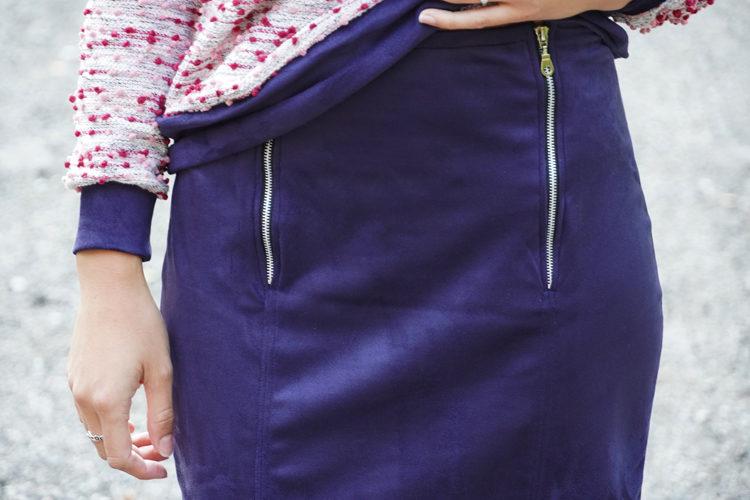 Střih na dámskou úzkou sukni TO THE CITY